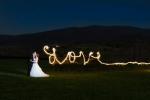 ways to use sparklers in wedding